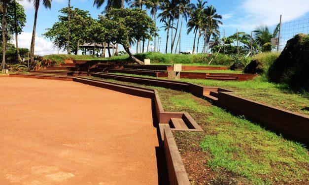 Aménagement de la Pointe Buzaré (Guyane) : Création d'un auditorium
